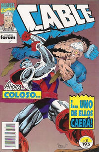 Cover Thumbnail for Cable (Planeta DeAgostini, 1994 series) #11