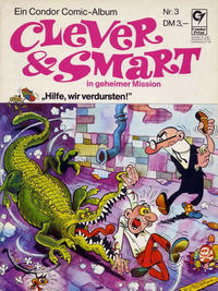 Cover for Clever & Smart (Condor, 1972 series) #3