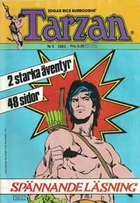 Cover Thumbnail for Tarzan (Atlantic Frlags AB, 1977 series) #5/1983