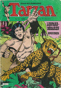 Cover Thumbnail for Tarzan (Atlantic Förlags AB, 1977 series) #12/1984