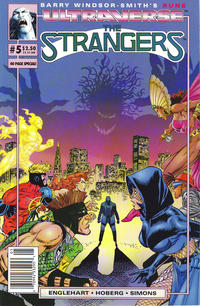 Cover for The Strangers (Malibu, 1993 series) #5 [Direct Edition]