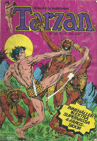 Cover Thumbnail for Tarzan (Atlantic Förlags AB, 1977 series) #24/1978