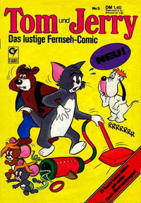 Cover Thumbnail for Tom & Jerry (Condor, 1976 series) #5