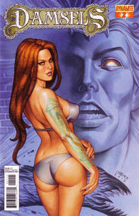 Cover for Damsels (Dynamite Entertainment, 2012 series) #2