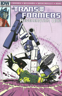 Cover for Transformers: Regeneration One (IDW, 2012 series) #84 [Cover RI - Incentive Geoff Senior Variant]