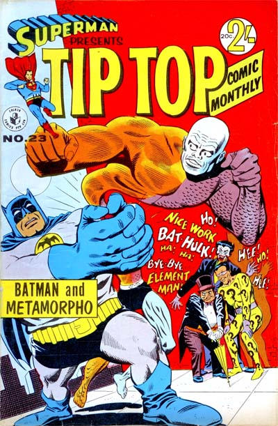 Cover for Superman Presents Tip Top Comic Monthly (1965 series) #23