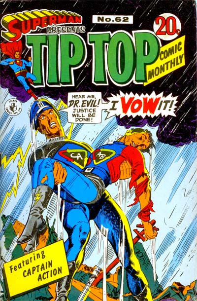 Cover for Superman Presents Tip Top Comic Monthly (K. G. Murray, 1965 series) #62