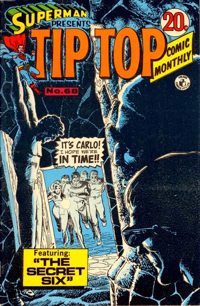 Cover for Superman Presents Tip Top Comic Monthly (K. G. Murray, 1965 series) #68