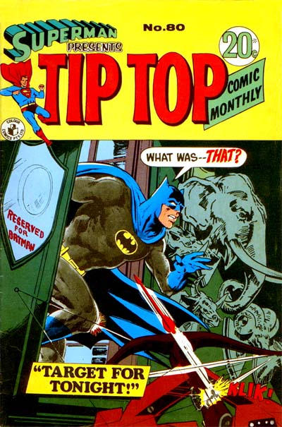Cover for Superman Presents Tip Top Comic Monthly (K. G. Murray, 1965 series) #80