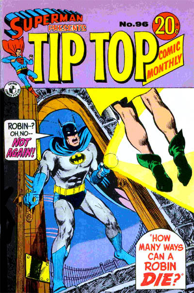 Cover for Superman Presents Tip Top Comic Monthly (K. G. Murray, 1965 series) #96