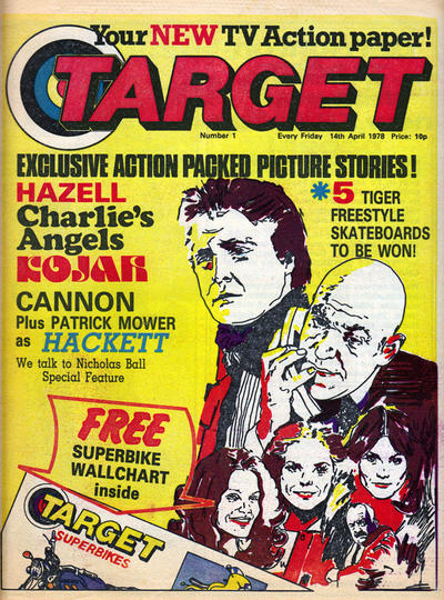 Cover for Target (Polystyle Publications, 1978 series) #1