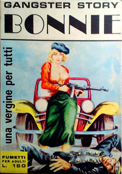 Cover for Gangster Story Bonnie (Ediperiodici, 1968 series) #1