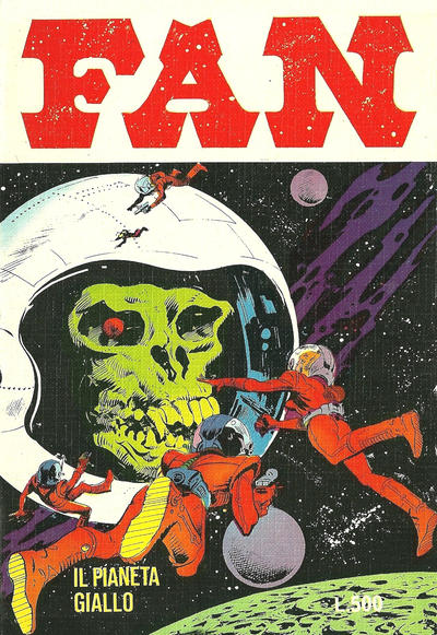 Cover for Fan (Edifumetto, 1978 series) #2