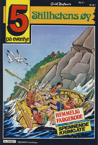 Cover for 5 på eventyr (Hjemmet, 1986 series) #7
