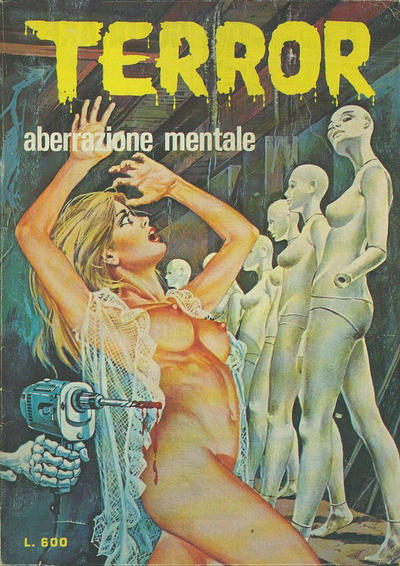 Cover for Terror (Ediperiodici, 1969 series) #95