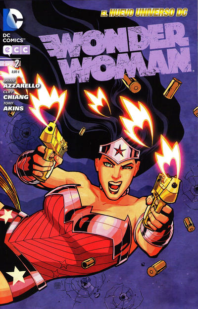 Cover for Wonder Woman (2012 series) #2