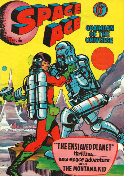 Cover for Space Ace (Atlas Publishing, 1960 series) #4