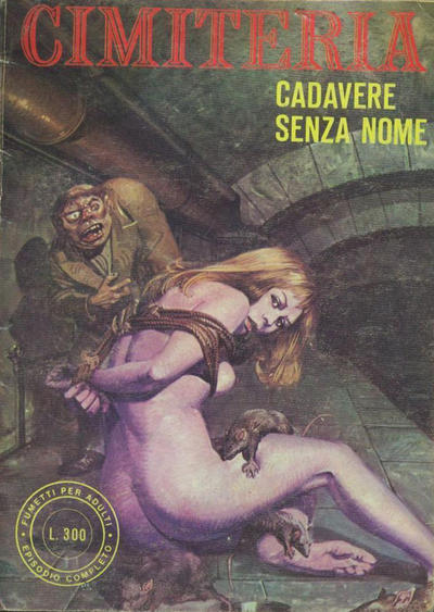 Cover for Cimiteria (Edifumetto, 1977 series) #3
