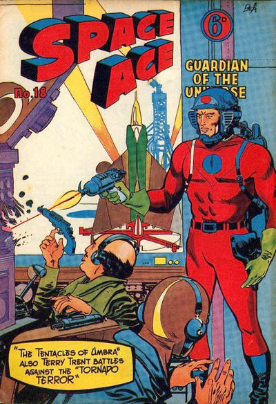 Cover for Space Ace (Atlas Publishing, 1960 series) #18