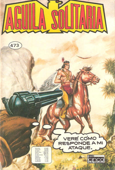 Cover for Aguila Solitaria (Editora Cinco, 1976 ? series) #473