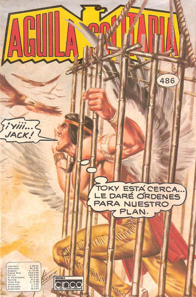 Cover for Aguila Solitaria (Editora Cinco, 1976 ? series) #486