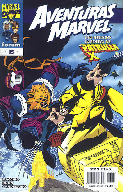 Cover for Aventuras Marvel (Planeta DeAgostini, 1998 series) #15