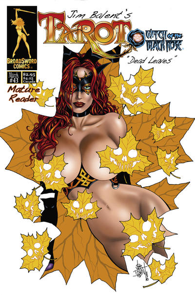 Cover for Tarot: Witch of the Black Rose (Broadsword, 2000 series) #43 [Cover C]
