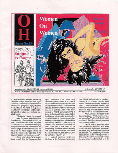 Cover for Oh (B Publications, 1992 series) #19
