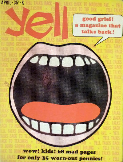 Cover for Yell (K-M-R Publications, 1966 series) #1