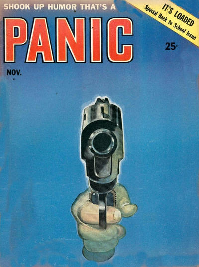 Cover for Panic (Panic Publications, 1958 series) #3
