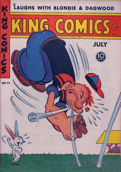 Cover for King Comics (1936 series) #99