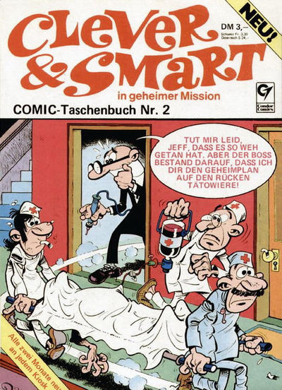 Cover for Clever & Smart (Condor, 1977 series) #2