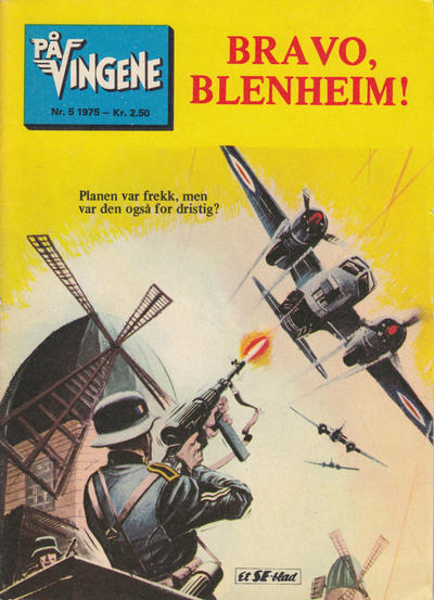 Cover for På Vingene (1963 series) #5/1975