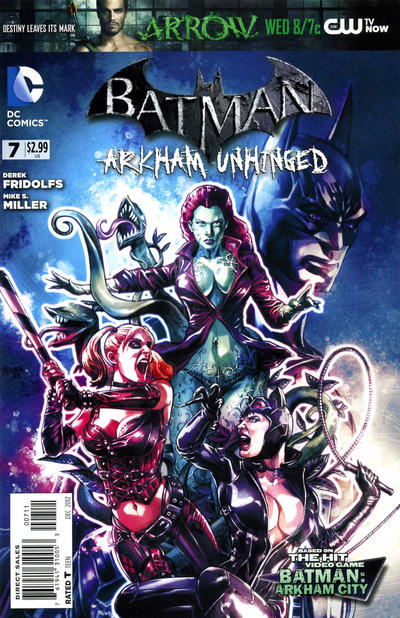 Cover for Batman: Arkham Unhinged (DC, 2012 series) #7