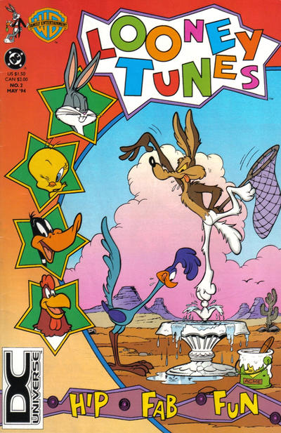 Cover for Looney Tunes (DC, 1994 series) #2 [DC Universe Corner Box]