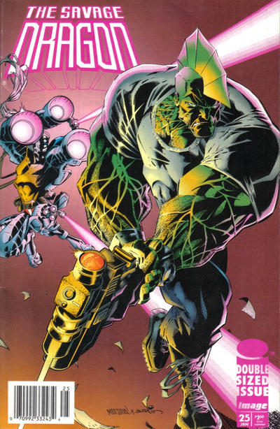 Cover for Savage Dragon (Image, 1993 series) #25