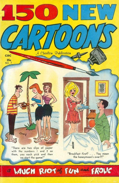 Cover for 150 New Cartoons (Charlton, 1962 series) #7