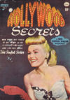 Cover for Hollywood Secrets (Bell Features, 1950 series) #3