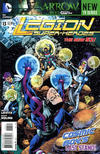 Cover for Legion of Super-Heroes (DC, 2011 series) #13