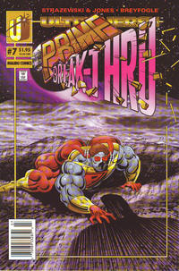 Cover Thumbnail for Prime (Malibu, 1993 series) #7 [Newsstand]