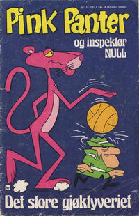Cover Thumbnail for Pink Panter (Nordisk Forlag, 1974 series) #1/1977