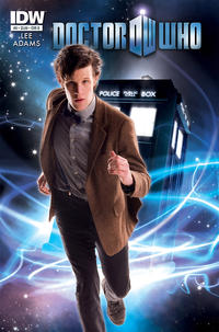 Cover for Doctor Who (IDW, 2011 series) #9 [Buckingham Cover]