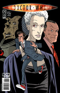 Cover Thumbnail for Doctor Who (IDW Publishing, 2009 series) #6 [Cover A]