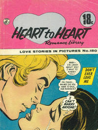 Cover Thumbnail for Heart to Heart Romance Library (K. G. Murray, 1958 series) #150