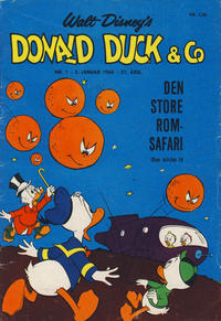 Cover Thumbnail for Donald Duck & Co (Hjemmet, 1948 series) #1/1968