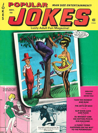 Cover for Popular Jokes (Marvel, 1961 series) #66