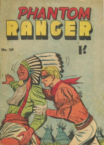 Cover for The Phantom Ranger (Frew Publications, 1948 series) #169
