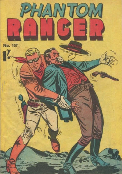 Cover for The Phantom Ranger (Frew Publications, 1948 series) #157