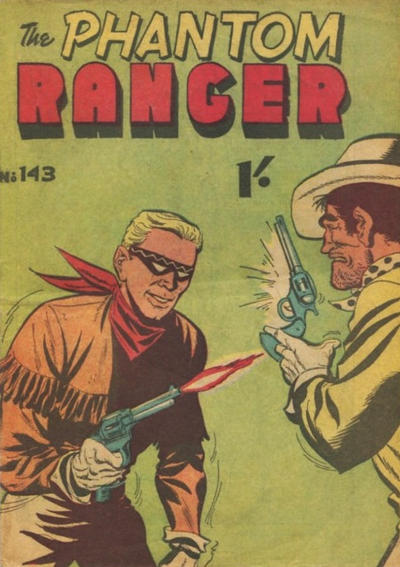 Cover for The Phantom Ranger (1948 series) #143