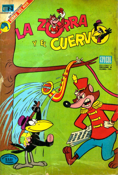 Cover for La zorra y el cuervo (Epucol, 1973 series) #11